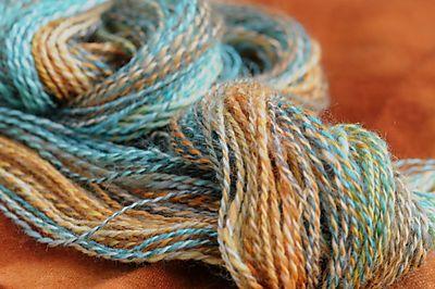 Spunky yarn