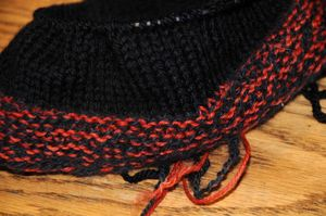 Aidans hat close up