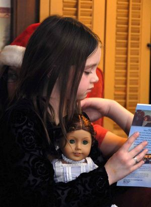 McKayla and her American Girl Doll