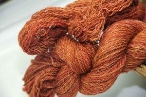 Foxfire yarn
