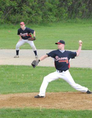 Miles pitching 3