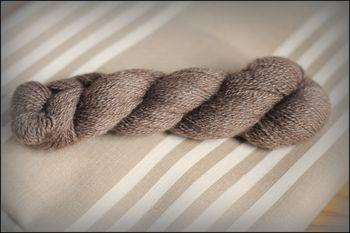 Bison yarn