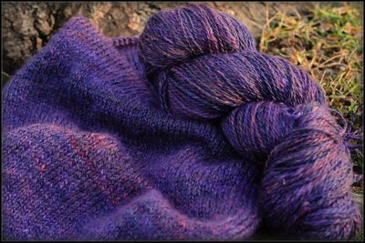 Purple Handspun