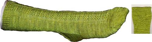 Thistle sock