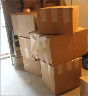 Boxes of fleece