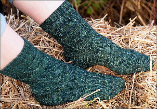Patti's Rosalynd Sock2
