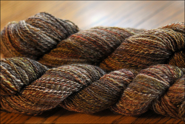 Brown handspun