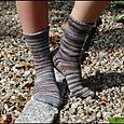 Blue Beach Socks