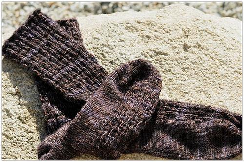 Choc Tesserae socks