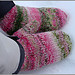 Peppermint mittens