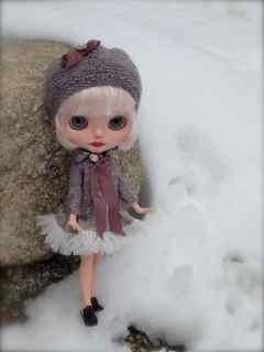 Josephine in Snow