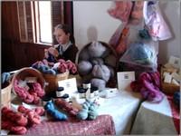 Hannah_knitting