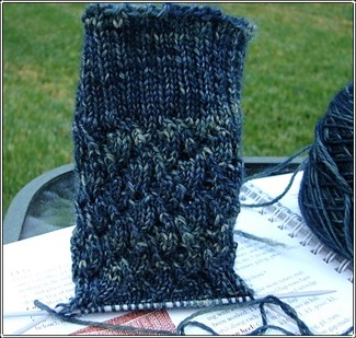 Lady_blue_sock_progress